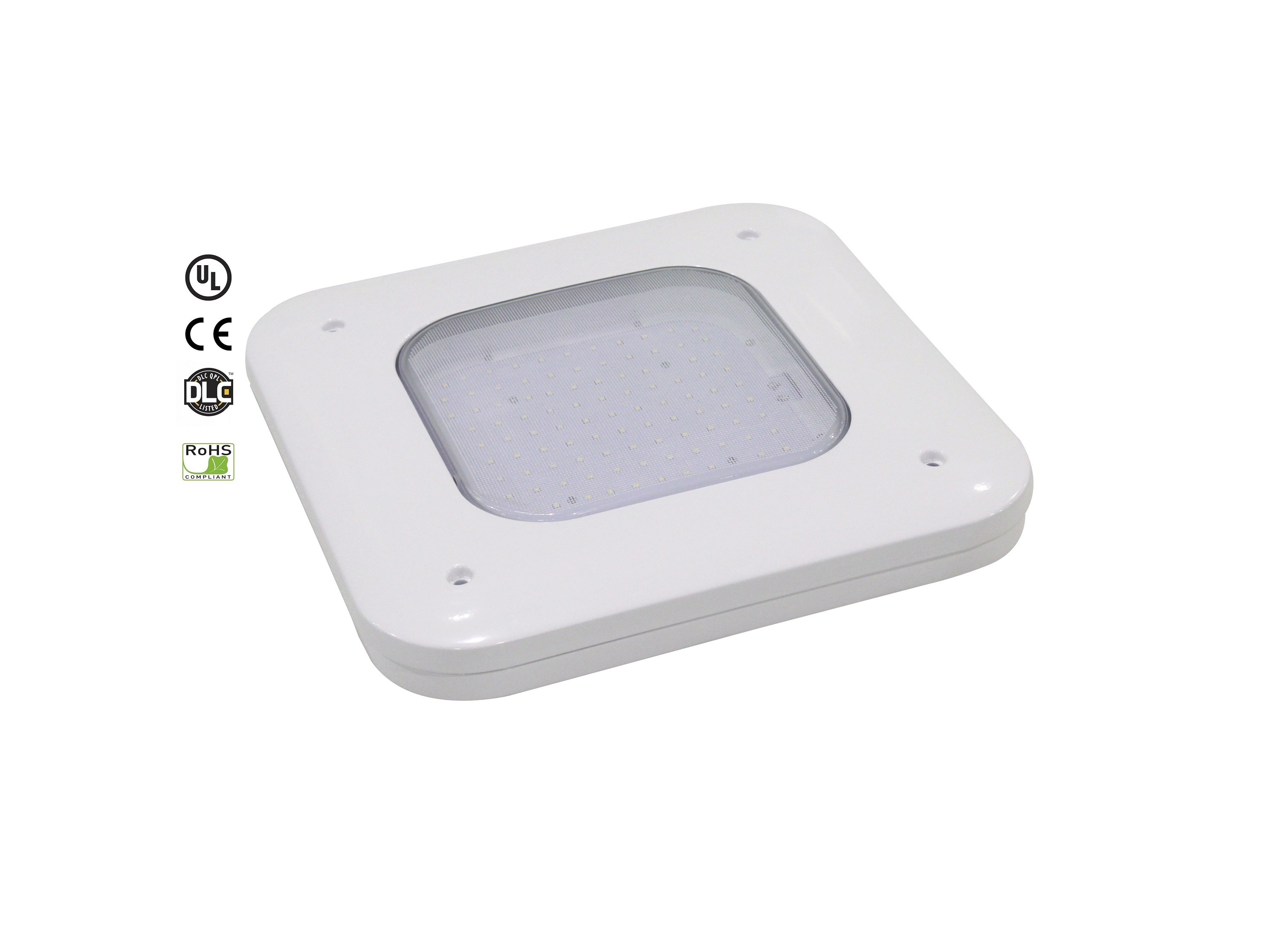 EverWatt 130W Philips LumiLEDs Chip LED Canopy Light (13929-14634lm)  sc 1 st  EverWatt Lights & EverWatt 100W Philips LumiLEDs Chip LED Canopy Light (11087 ...