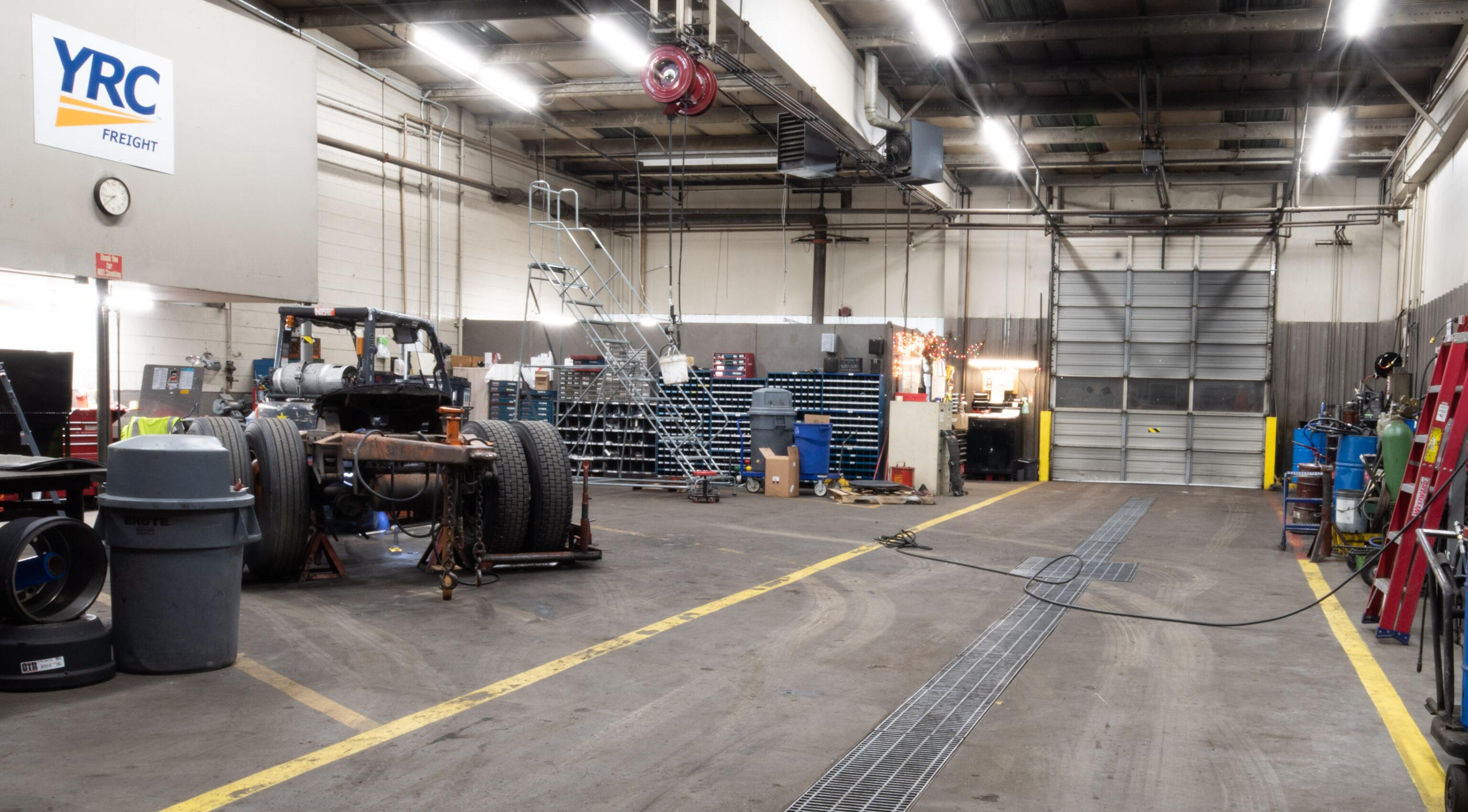 LED Light upgrade for YRC Freight
