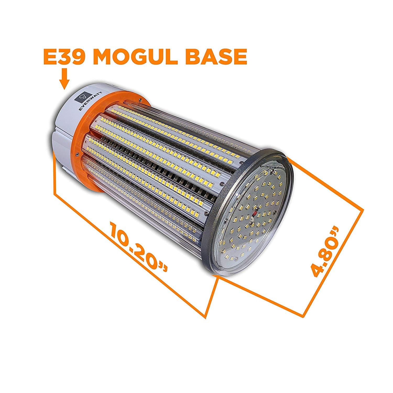 80w Led Corn Light Bulb Large Mogul E39 Base 11276