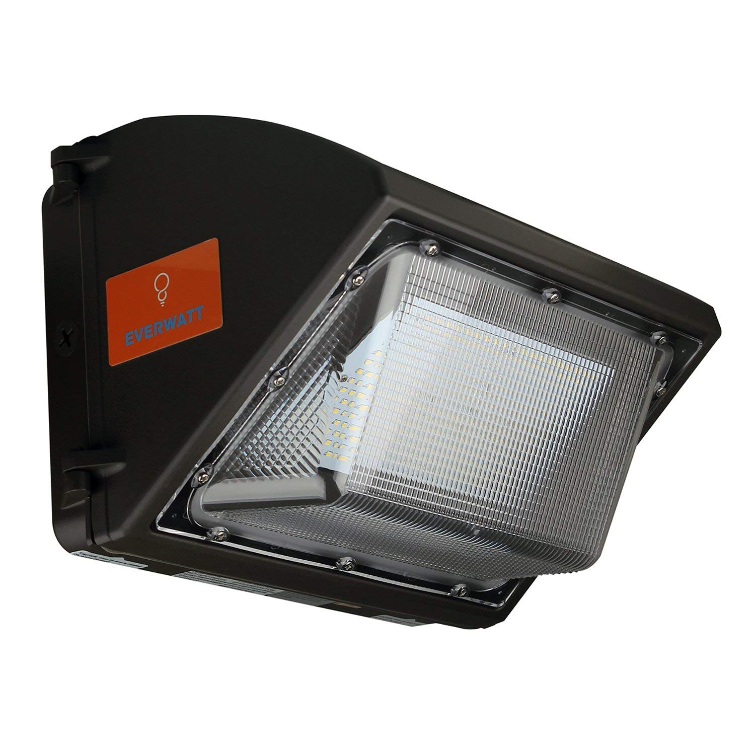 60W LED Outdoor Wall Pack Light, 4000K Warm