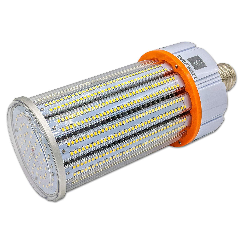 120w Led Corn Light Bulb Mogul E39 Base 16430 Lumens 5000k Waterproof Outdoor Indoor Area Lighting Replacement For 600w Equivalent Metal Halide Hid Hps Everwatt