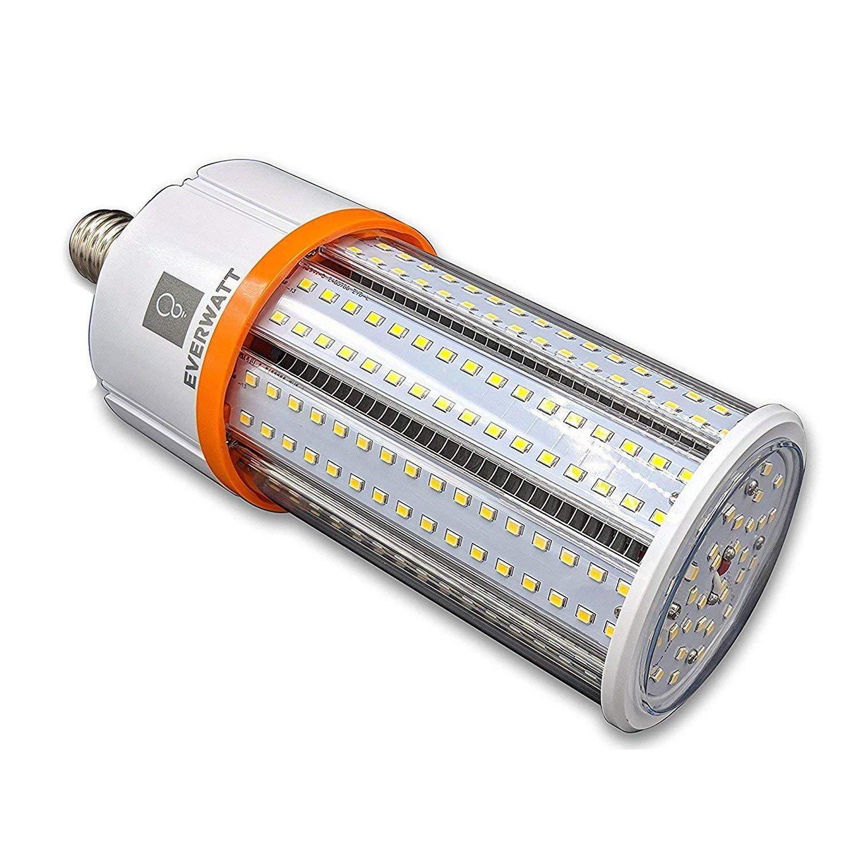 40w Led Corn Light Bulb Standard E26 Base 5479 Lumens
