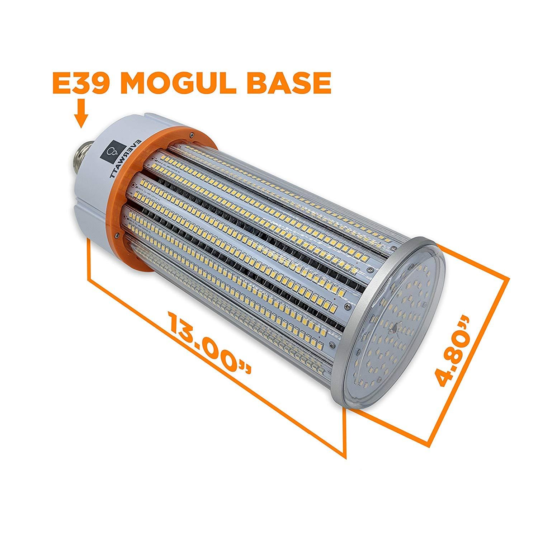 150w Led 5000k Corn Light Bulb Mogul E39 Base