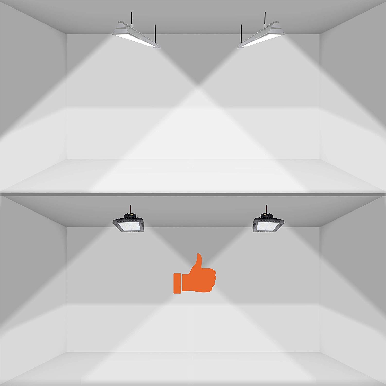 4ft Led Shop Light >> EverWatt 100W LED High Bay Light Fixture, 5000K, 14403 ...